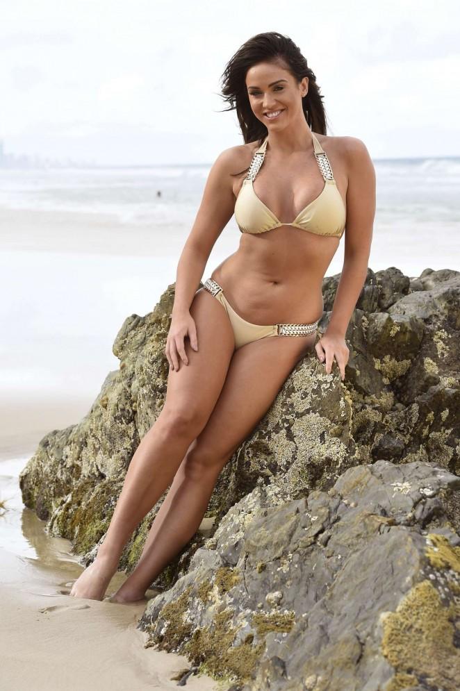 Vicky Pattison: Bikini Photoshoot -08 - GotCeleb Olga Kurylenko Dress