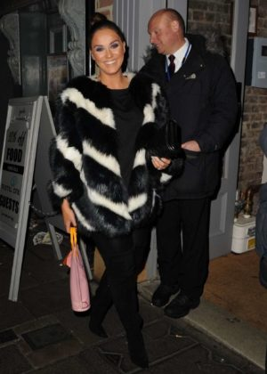 Vicky Pattison - Celebrates Her 30th Birthday in Newcastle
