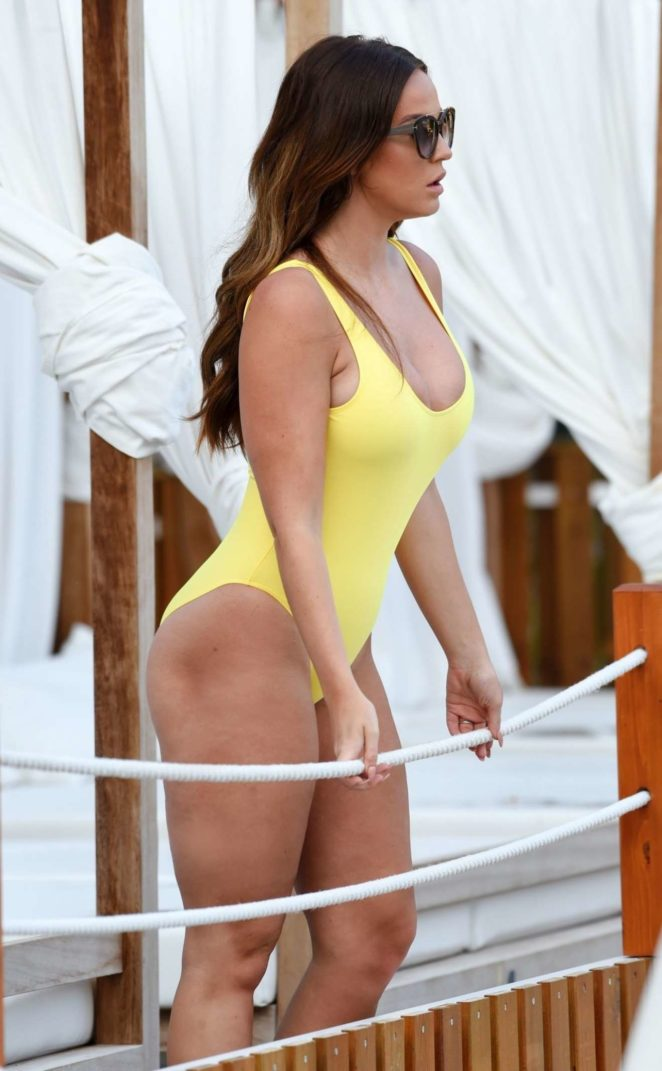 Vicky Pattison - Hot in a Swimsuit in Majorca