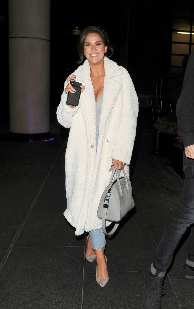 Vicky Pattison – Leaving Savage Garden in London