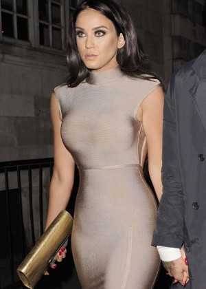 Vicky Pattison in Tight Dress at Opal Nightclub in London