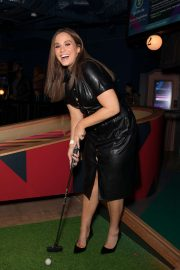 Vicky Pattison - Puttshack Launch Party in London
