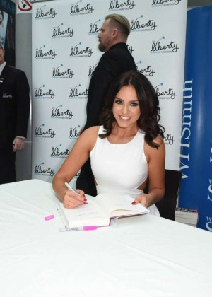 Vicky Pattison: A Christmas Kiss book signig-18