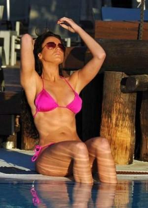 Vicky Pattison in Pink Bikini -03