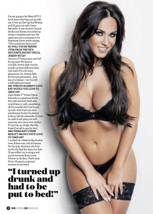 vicky pattison   zoo magazine september 2015