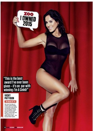 Vicky Pattison - Zoo UK Magazine (December 2015)
