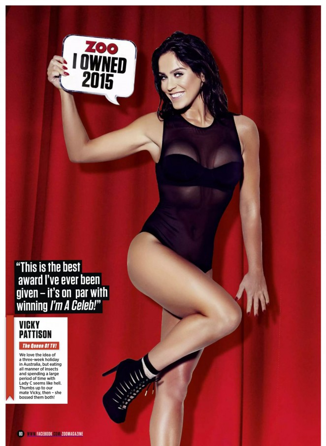 Vicky Pattison - Zoo UK Magazine (December 2015)