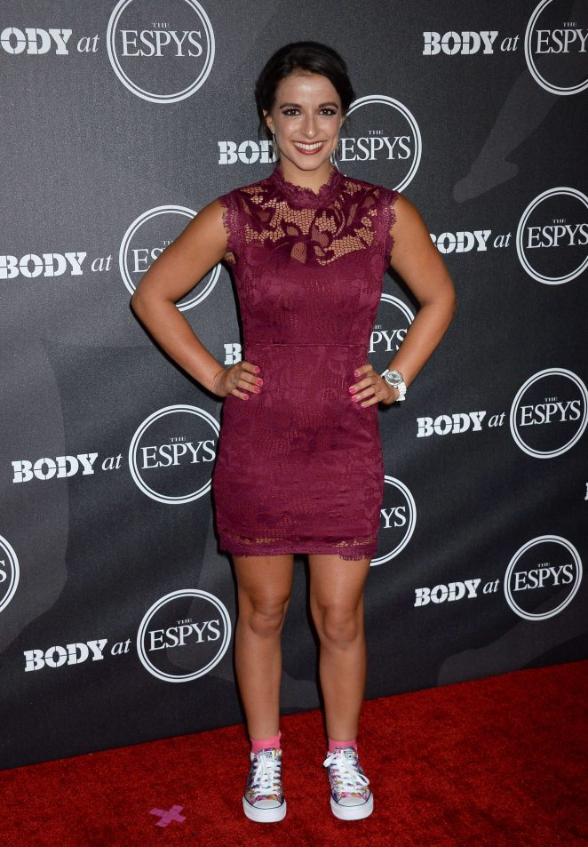 Victoria Arlen - BODY At The ESPYs Pre-Party 2016 in Los Angeles