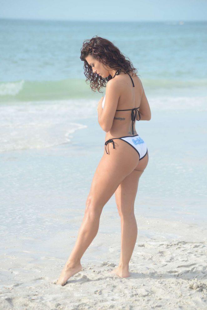 Victoria Banxxx in White Bikini -42