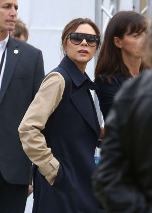 Victoria Beckham - Arrives at Dignity Health Sports Park in Carson
