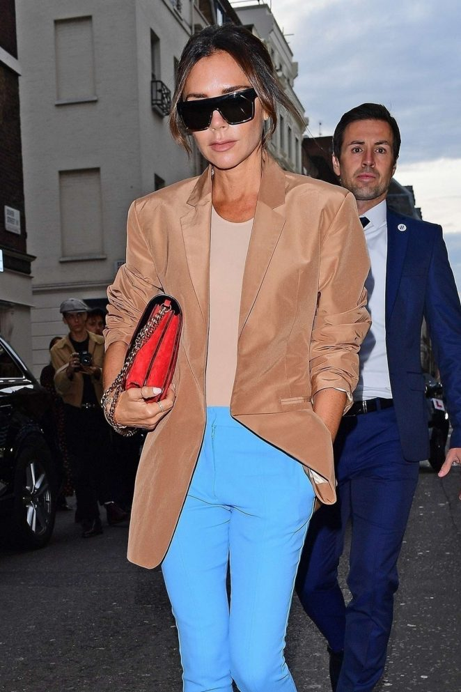 Victoria Beckham – Arrives for her LFW Show in London