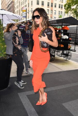 Victoria Beckham - Arriving on Live With Kelly and Ryan in New York