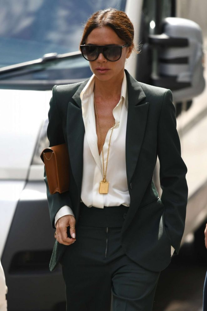 Victoria Beckham at Dover Street Shop in London