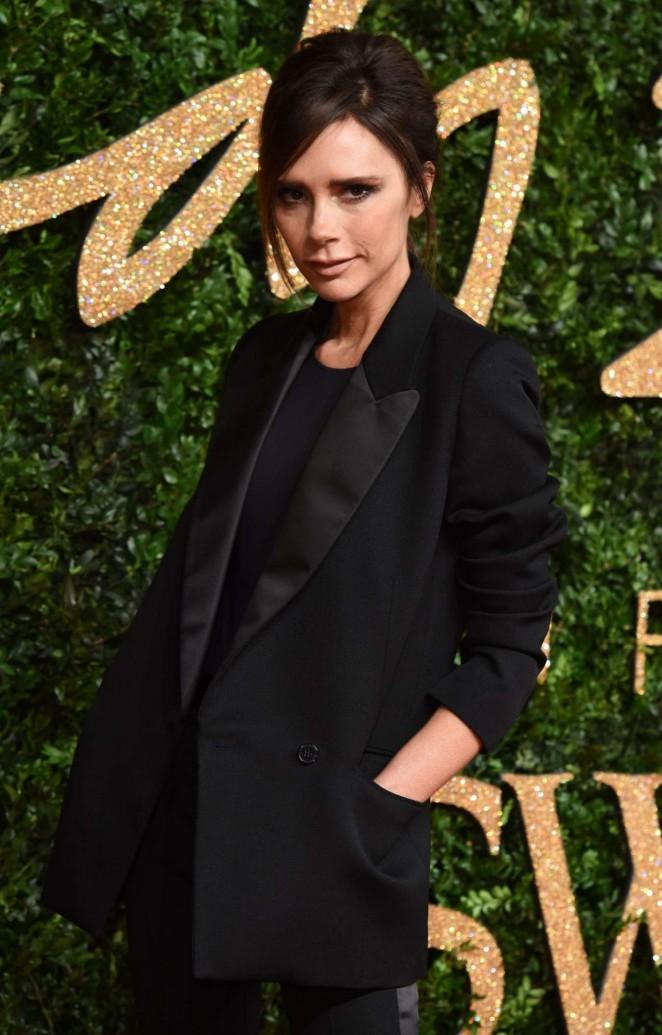 Victoria Beckham - British Fashion Awards 2015 in London