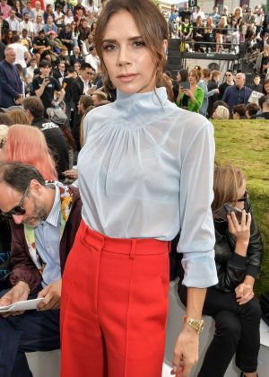 Victoria Beckham - Dior Homme Show SS 2019 at Paris Fashion Week