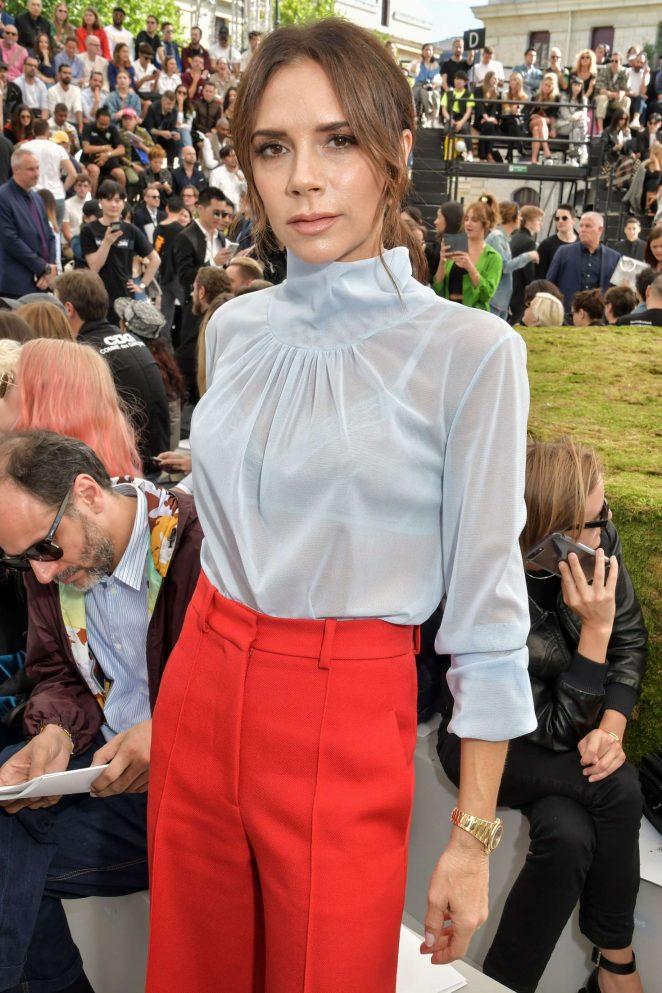 Victoria Beckham - Dior Homme Show SS 2019 at Paris Fashion Week