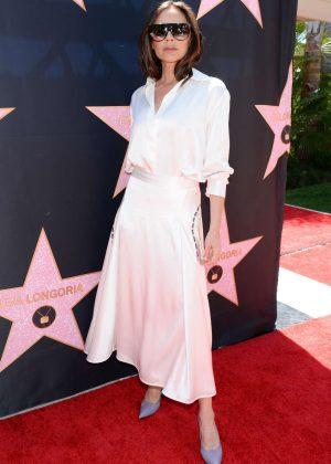Victoria Beckham - Eva Longoria Hollywood Walk Of Fame Ceremony in Beverly Hills