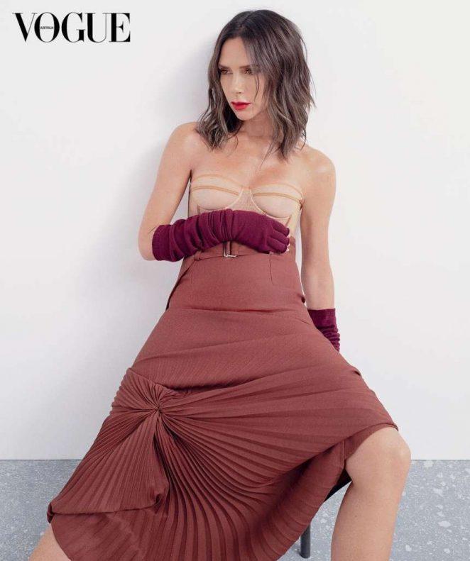 Victoria Beckham for Vogue Australia Magazine (November 2018)