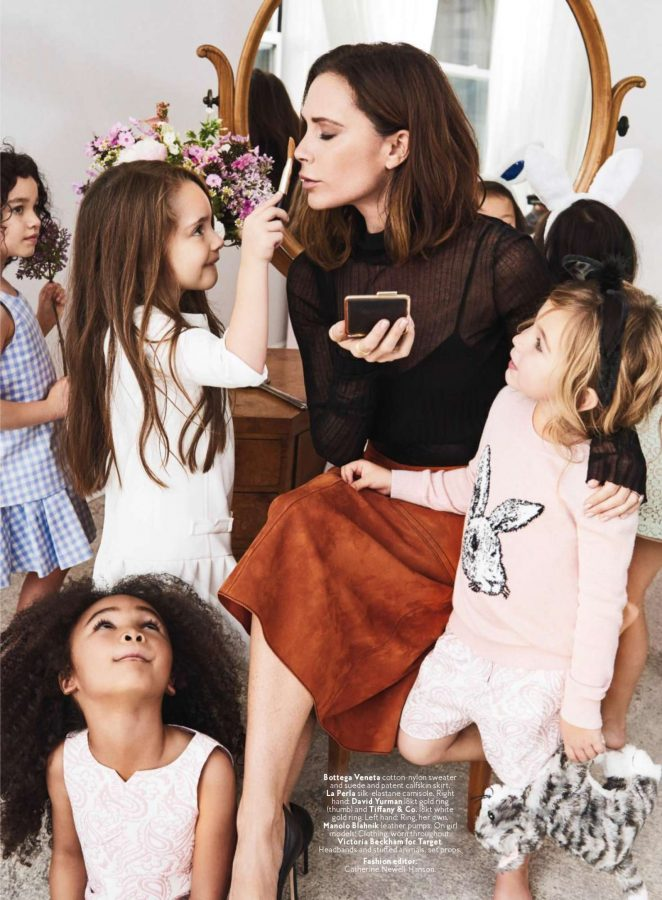 Victoria Beckham – InStyle US Magazine (April 2017)