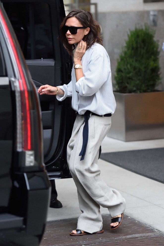 Victoria Beckham: Leaves her hotel in New York -03