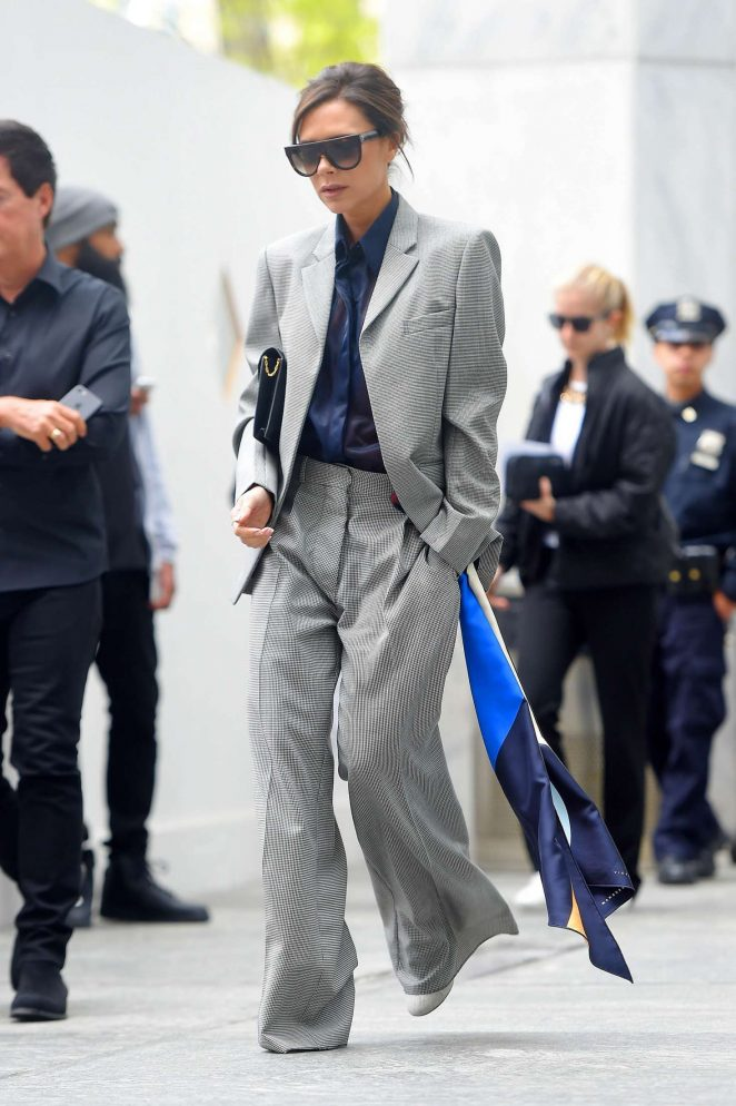 Victoria Beckham Leaves her hotel in NY -02