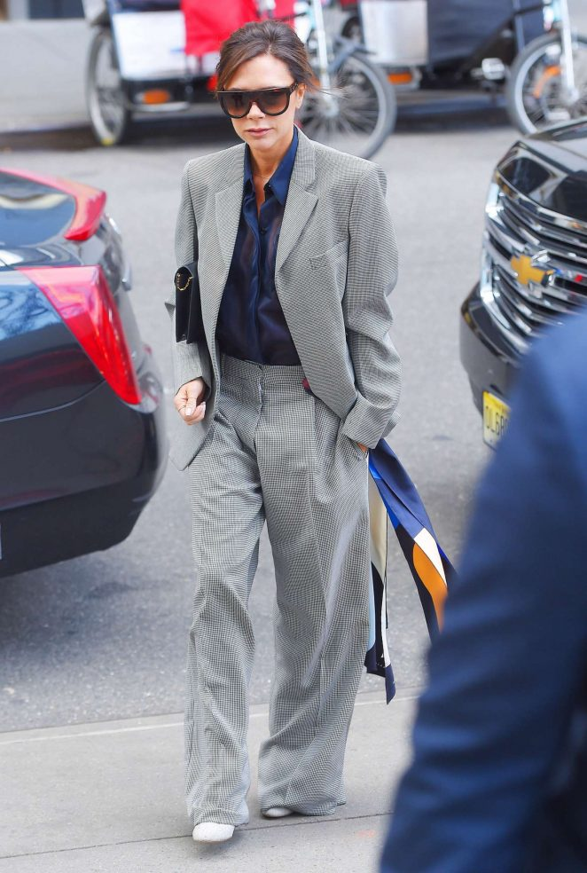 Victoria Beckham Leaves her hotel in NY -04