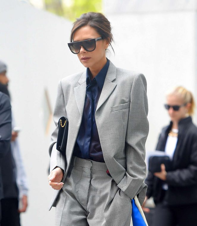 Victoria Beckham Leaves her hotel in NY -05