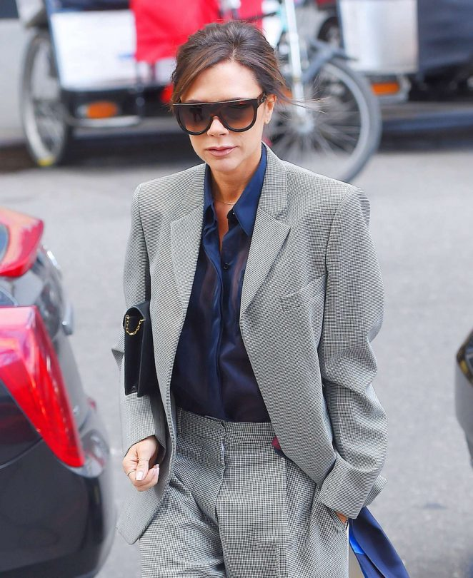 Victoria Beckham Leaves her hotel in NY -07