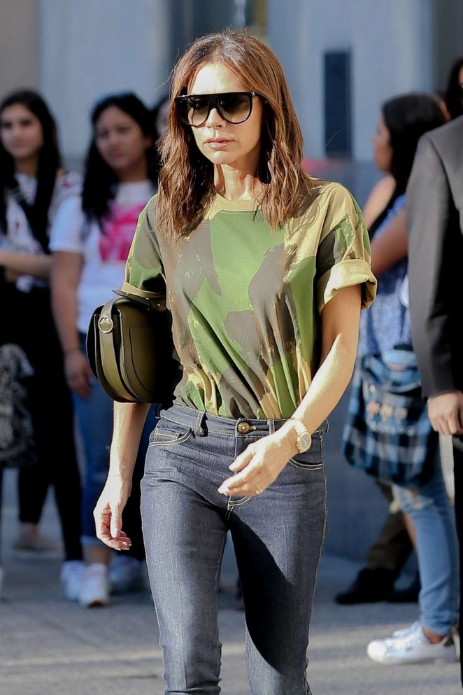 Victoria Beckham - Leaving her hotel in NY