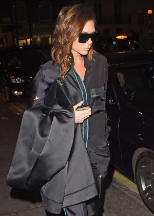 Victoria Beckham - Leaving Little House in London