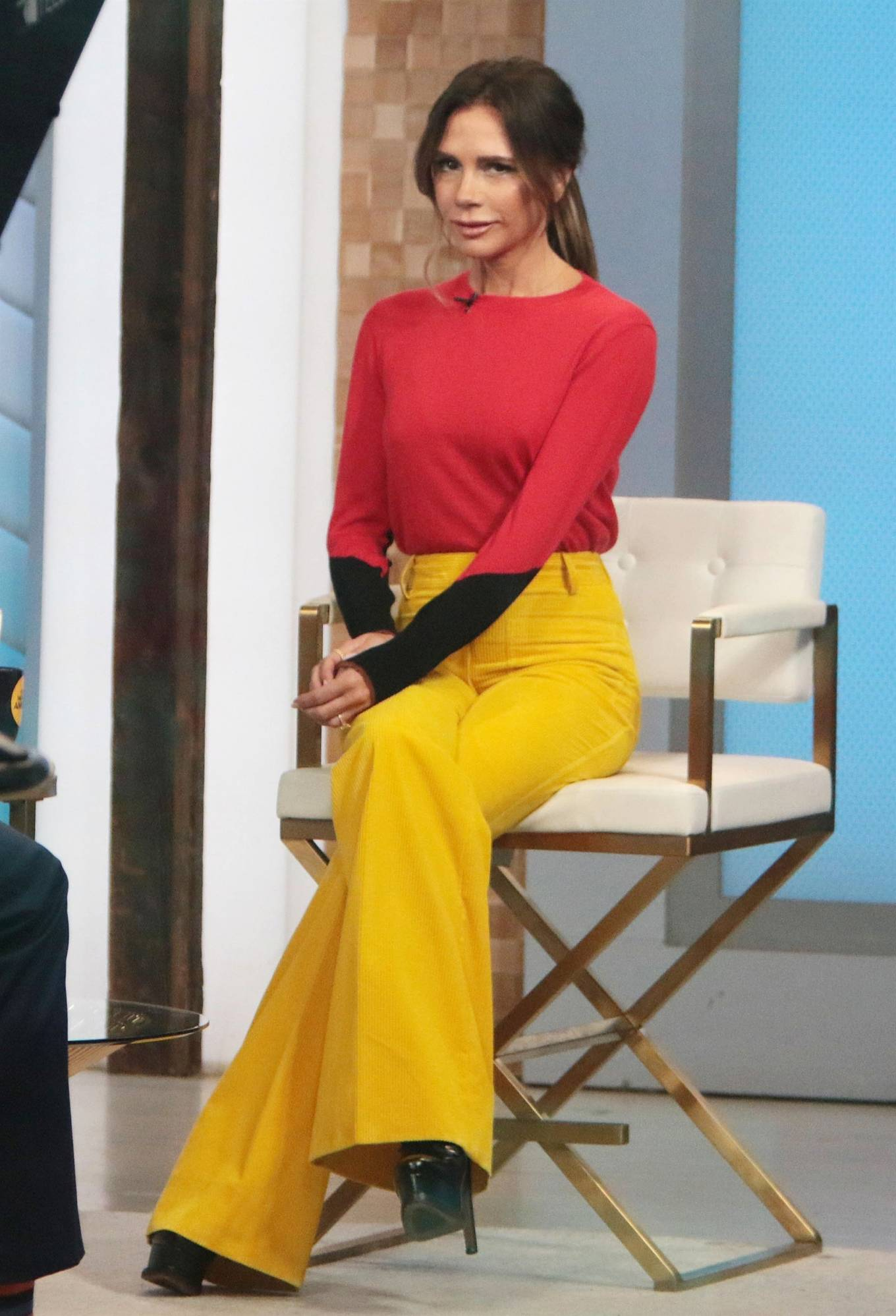 Victoria Beckham 2021 : Victoria Beckham – on Good Morning America promoting her new designer clothing in New York City-12