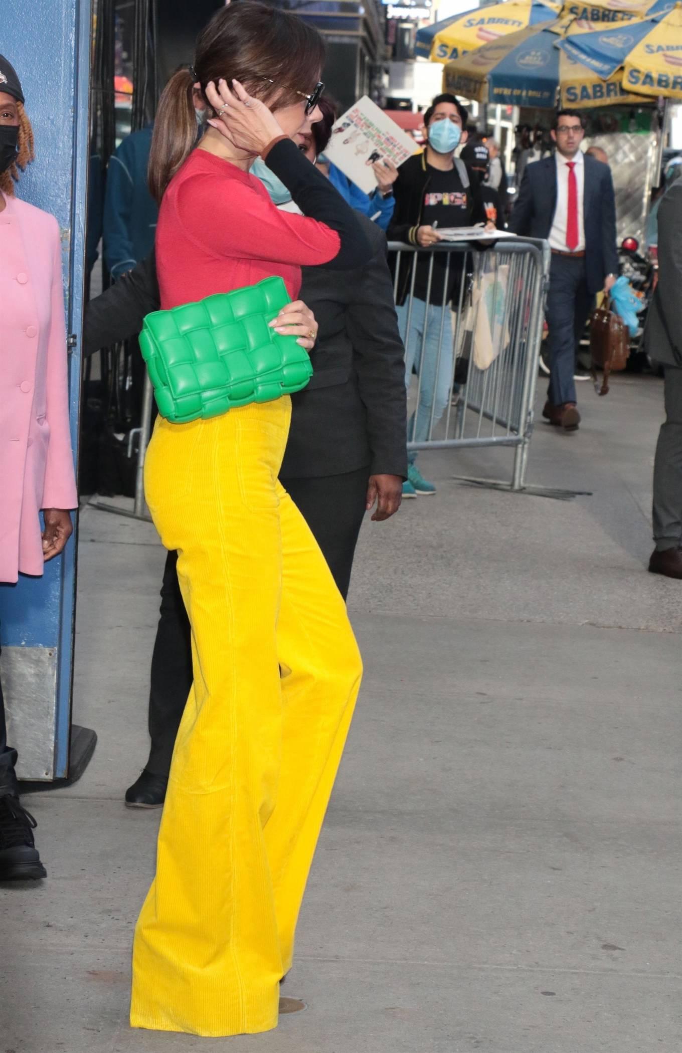 Victoria Beckham 2021 : Victoria Beckham – on Good Morning America promoting her new designer clothing in New York City-13