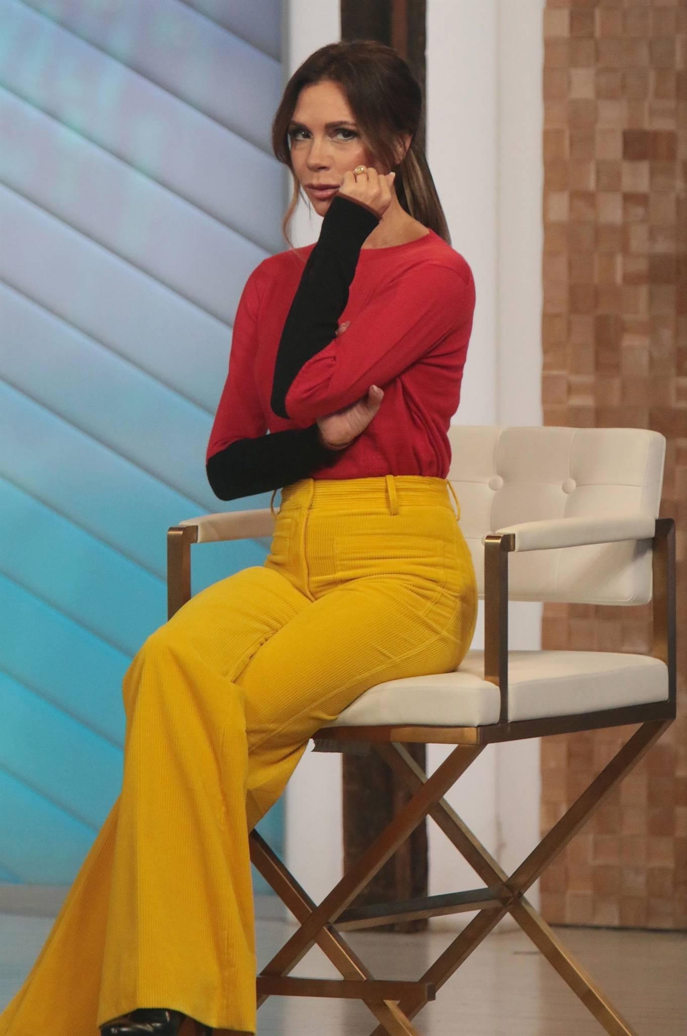 Victoria Beckham 2021 : Victoria Beckham – on Good Morning America promoting her new designer clothing in New York City-17