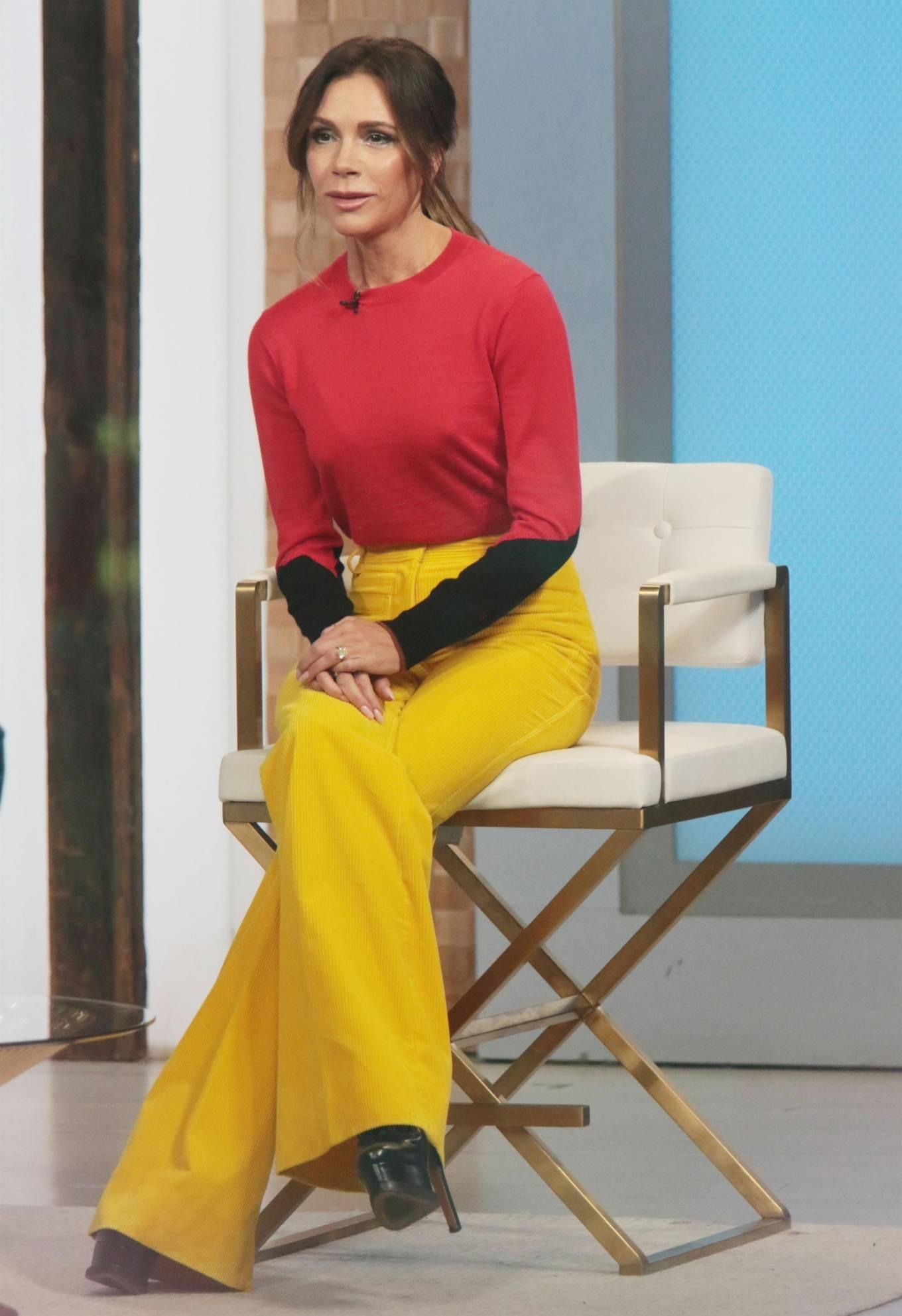 Victoria Beckham 2021 : Victoria Beckham – on Good Morning America promoting her new designer clothing in New York City-18