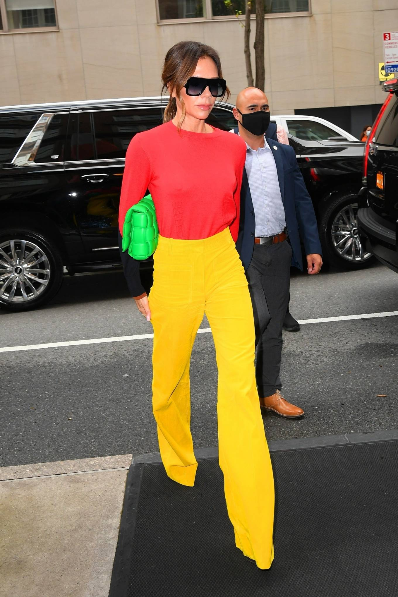 Victoria Beckham 2021 : Victoria Beckham – on Good Morning America promoting her new designer clothing in New York City-21