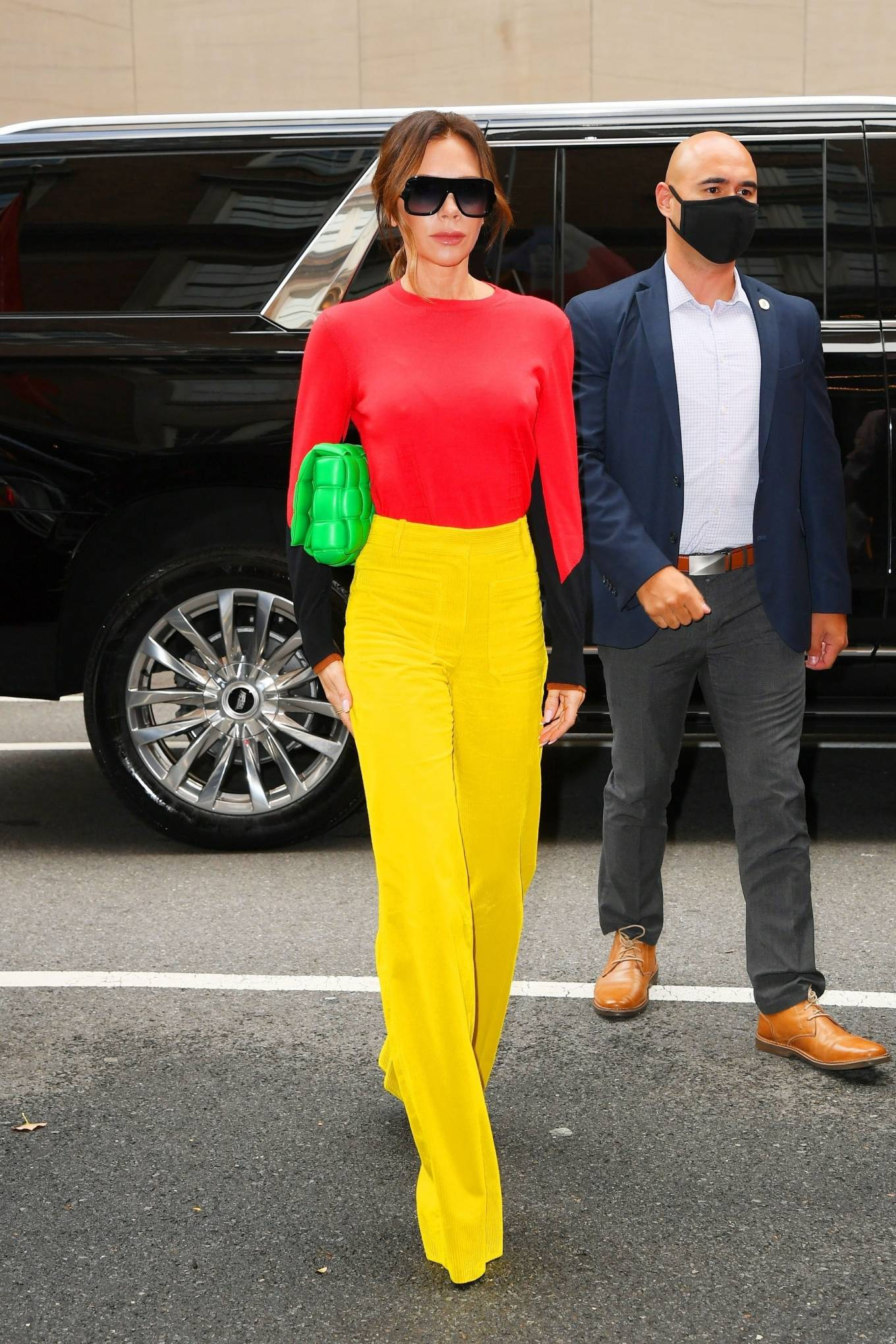 Victoria Beckham 2021 : Victoria Beckham – on Good Morning America promoting her new designer clothing in New York City-23