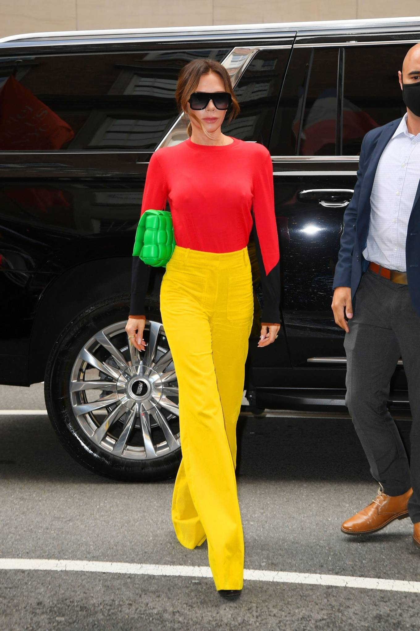 Victoria Beckham 2021 : Victoria Beckham – on Good Morning America promoting her new designer clothing in New York City-24