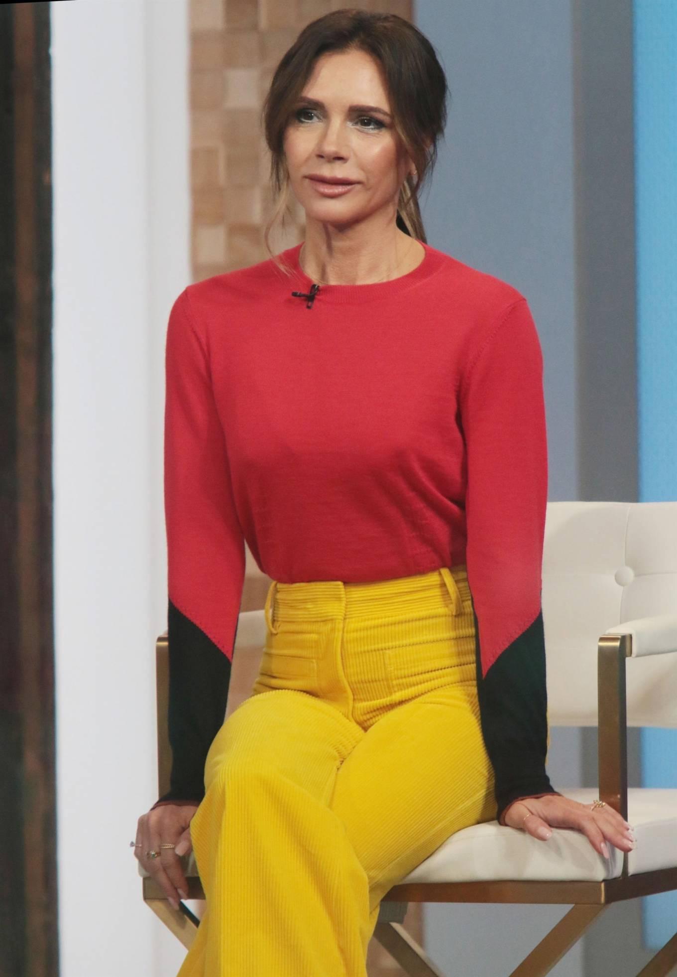 Victoria Beckham 2021 : Victoria Beckham – on Good Morning America promoting her new designer clothing in New York City-28