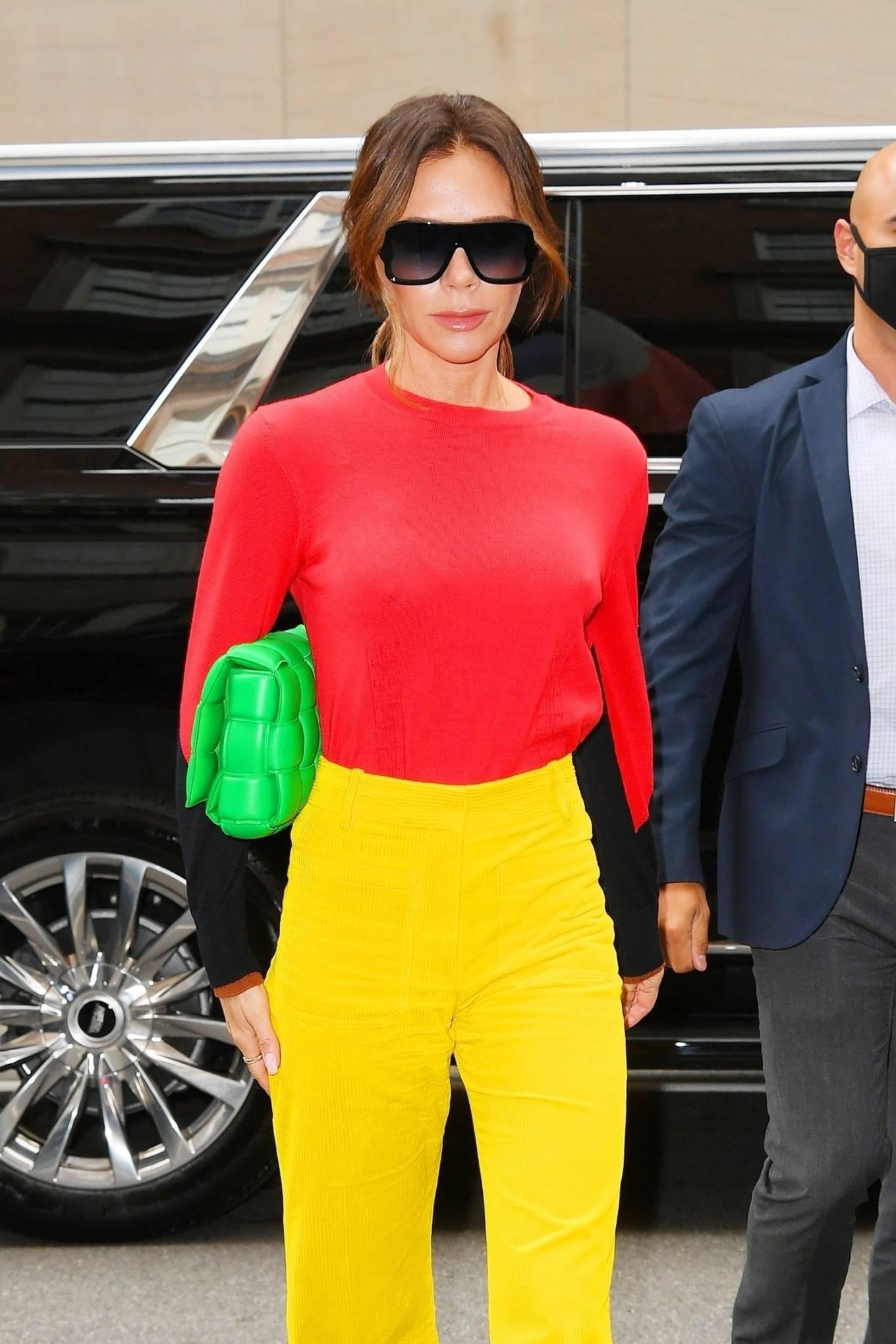 Victoria Beckham 2021 : Victoria Beckham – on Good Morning America promoting her new designer clothing in New York City-29