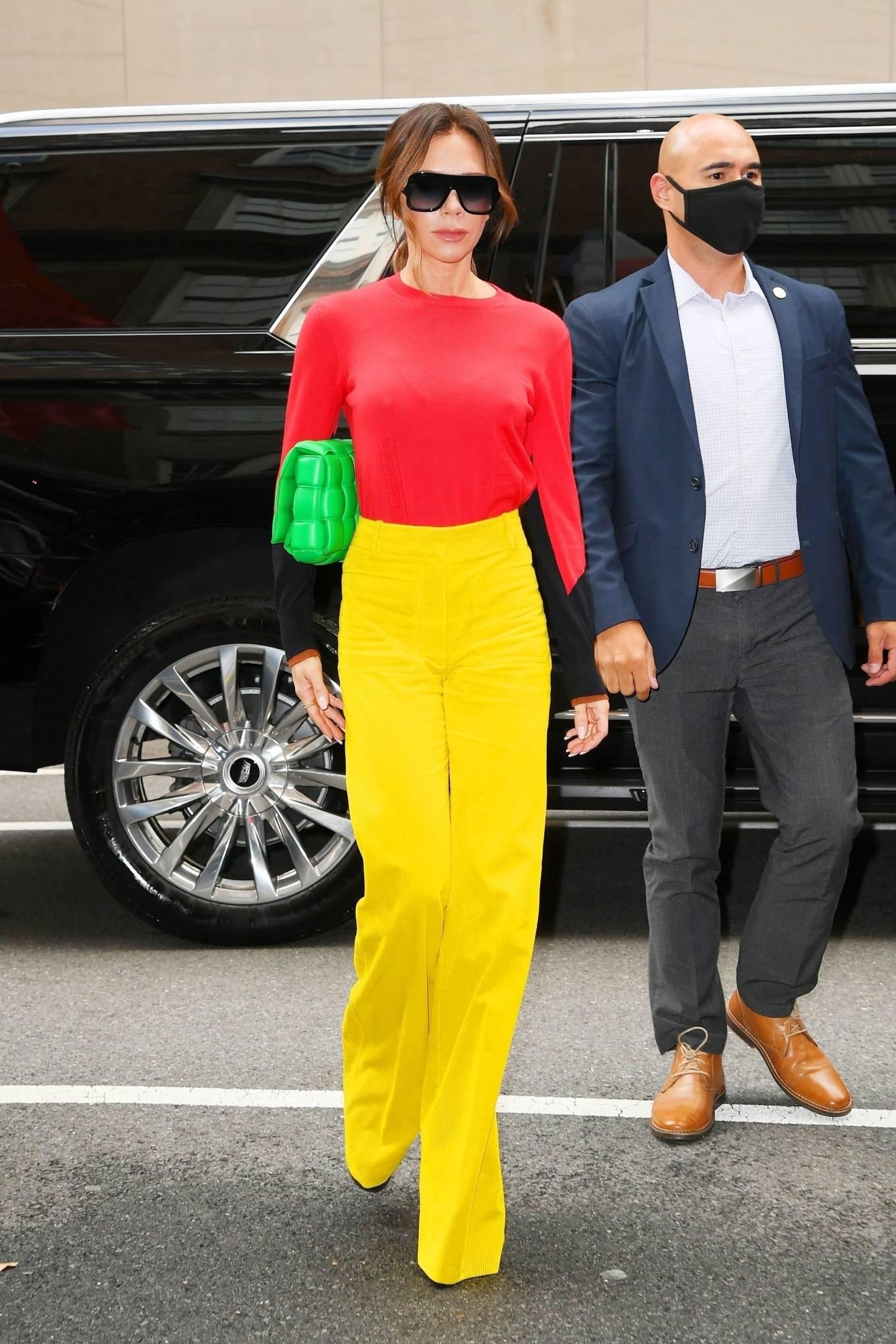 Victoria Beckham 2021 : Victoria Beckham – on Good Morning America promoting her new designer clothing in New York City-32