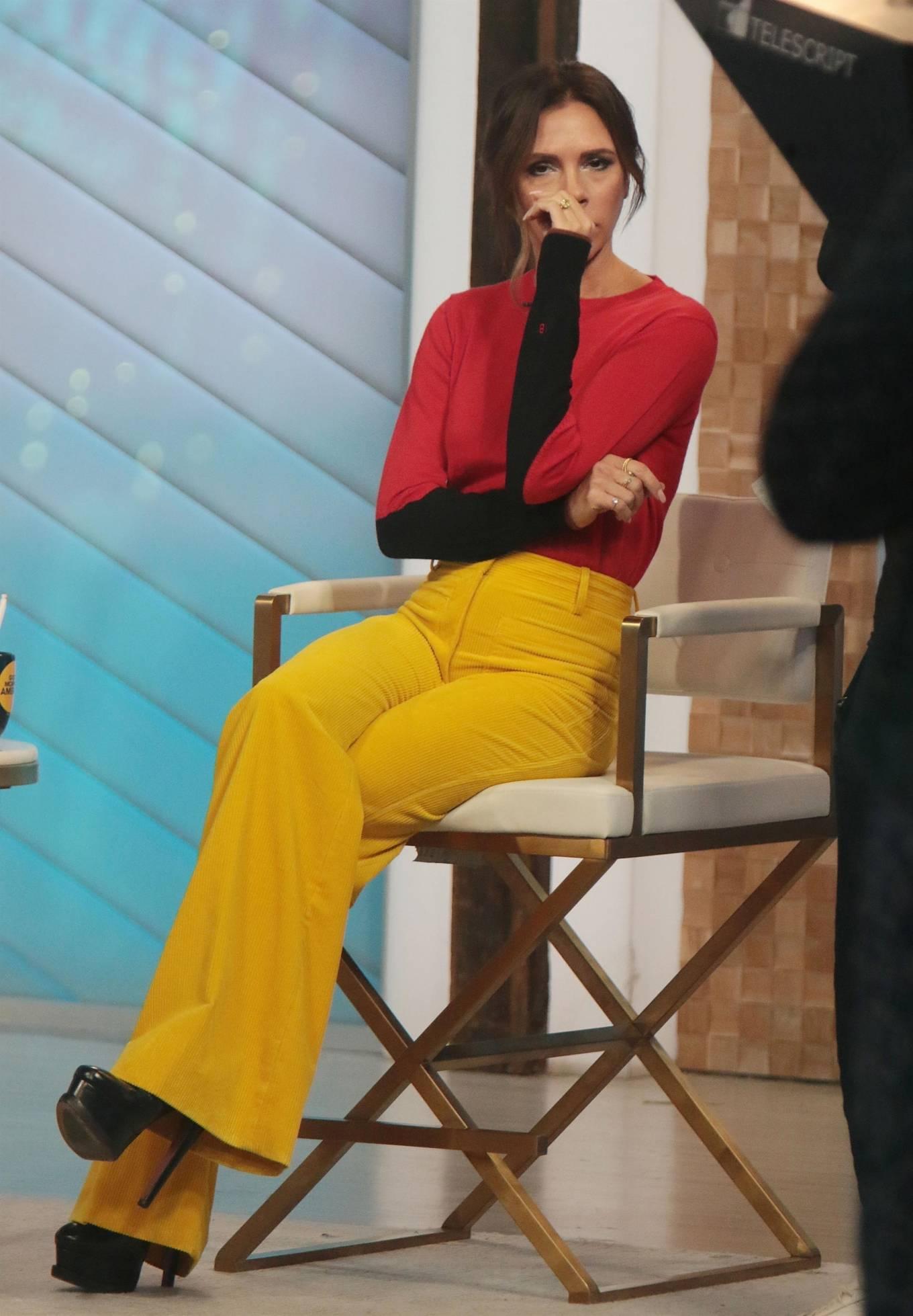 Victoria Beckham 2021 : Victoria Beckham – on Good Morning America promoting her new designer clothing in New York City-34