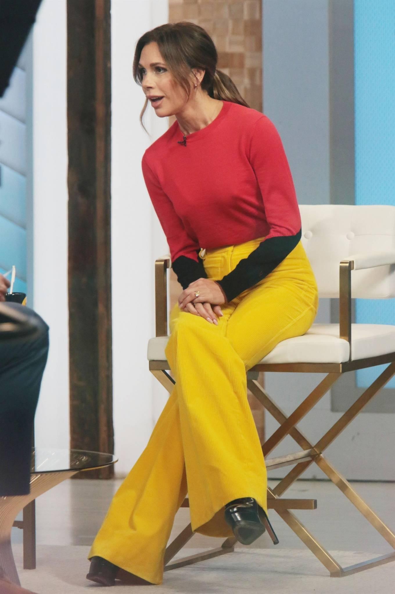 Victoria Beckham 2021 : Victoria Beckham – on Good Morning America promoting her new designer clothing in New York City-37