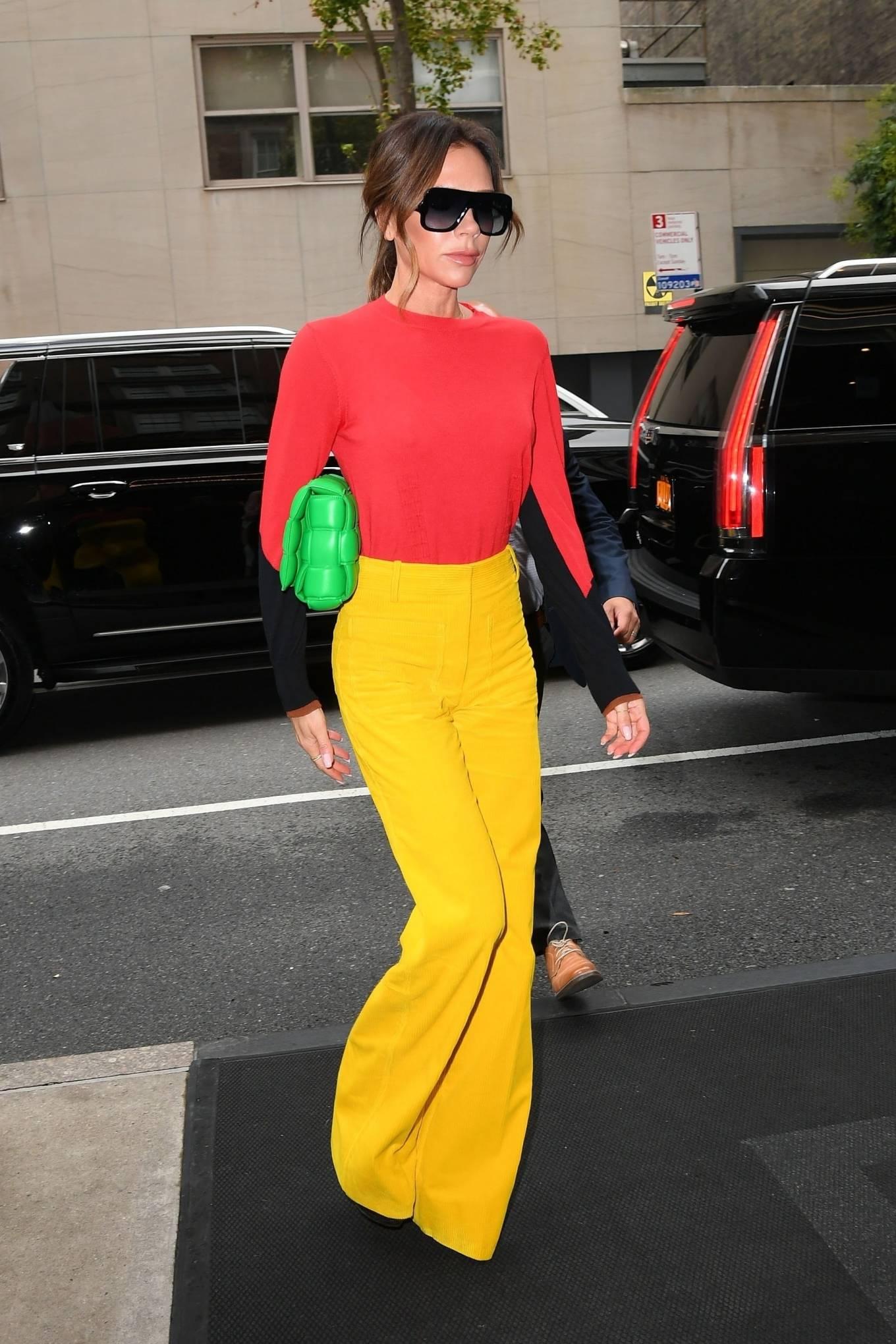 Victoria Beckham 2021 : Victoria Beckham – on Good Morning America promoting her new designer clothing in New York City-38