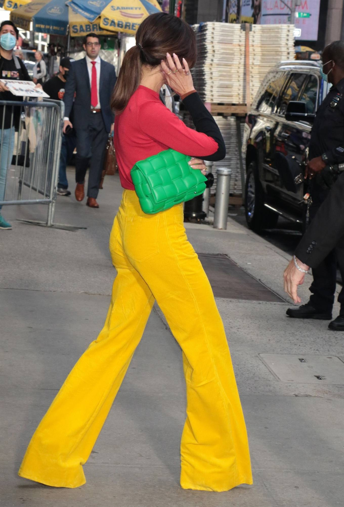 Victoria Beckham 2021 : Victoria Beckham – on Good Morning America promoting her new designer clothing in New York City-39