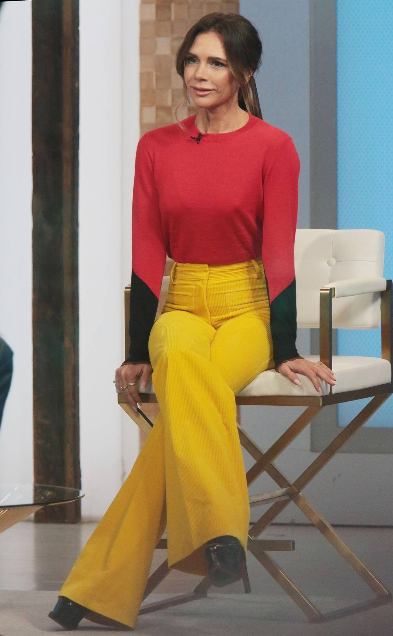Victoria Beckham 2021 : Victoria Beckham – on Good Morning America promoting her new designer clothing in New York City-43