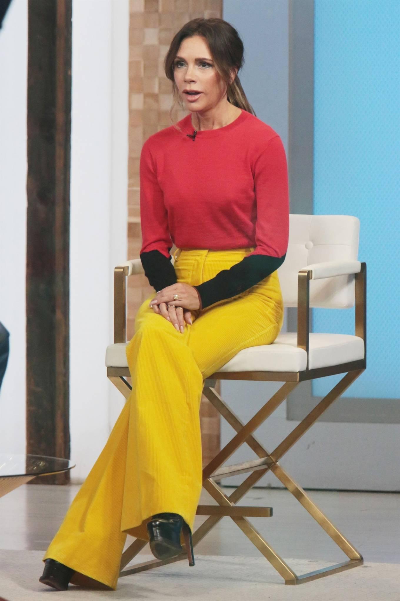 Victoria Beckham 2021 : Victoria Beckham – on Good Morning America promoting her new designer clothing in New York City-44