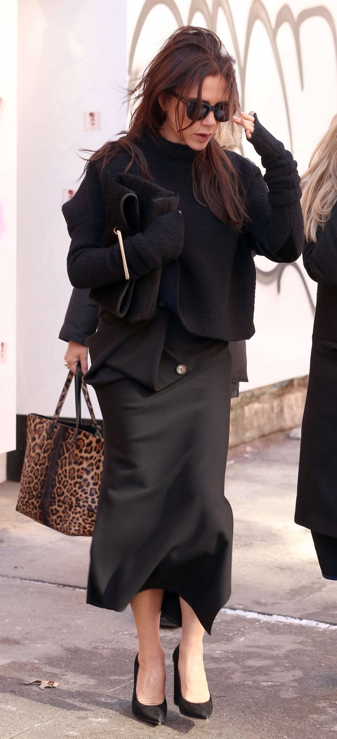 Victoria Beckham Out in NYC -13