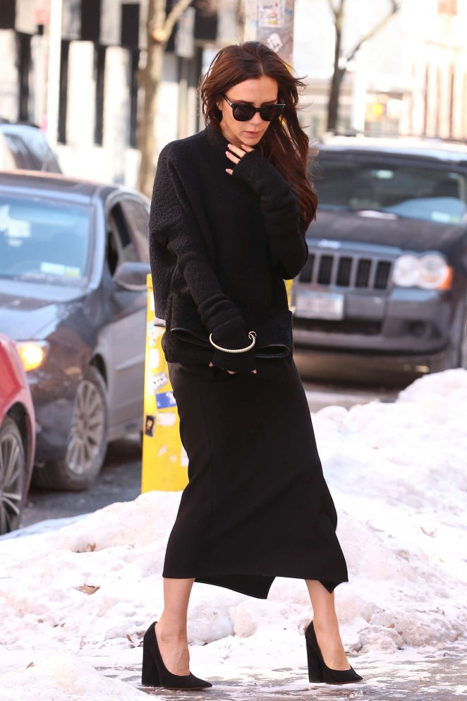 Victoria Beckham - Out and about in NYC