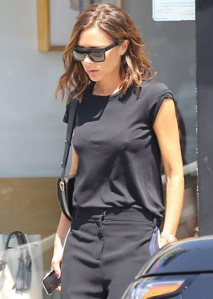 Victoria Beckham out for lunch in Los Angeles