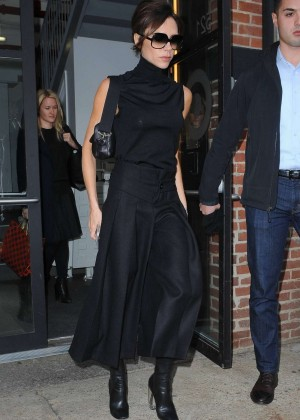 Victoria Beckham out in Chelsea